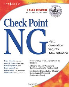 Check Point Next Generation Security Administration-cover