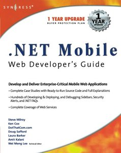 .NET Mobile Web Developer's Guide (Paperback)-cover