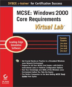 MCSE: Windows 2000 Core Requirements Virtual Lab-cover