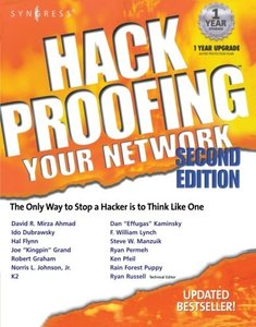 Hack Proofing Your Network, 2/e-cover