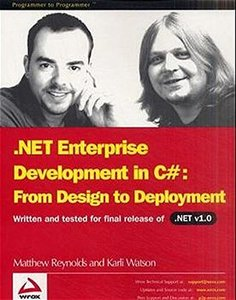 .NET Enterprise Development in C#: From Design to Deployment-cover