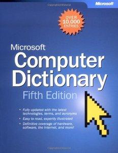 Microsoft Computer Dictionary, 5/e (Paperback)-cover
