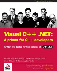 Visual C++ .NET: A Primer for C++ Developers-cover