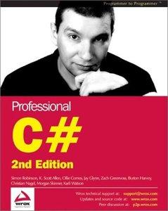Professional C#, 2/e-cover