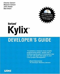 Kylix Developers Guide (Paperback)-cover