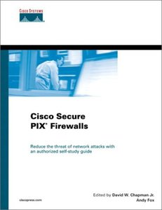 Cisco Secure PIX Firewalls-cover