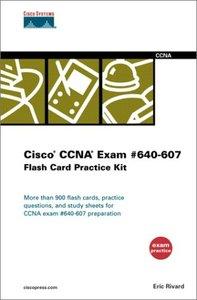 Cisco CCNA Exam #640-607 Flash Card Practice Kit-cover