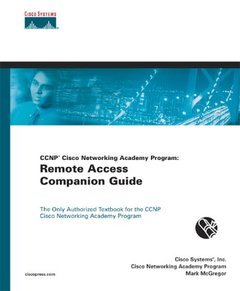 CCNP CNAP: Remote Access Companion Guide-cover