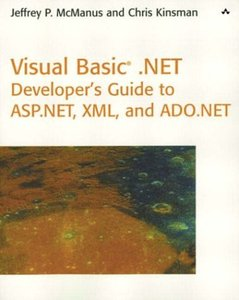 Visual Basic .NET Developer's Guide to ASP.NET, XML and ADO.NET-cover