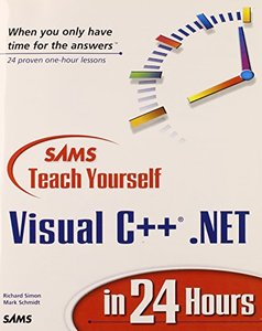 Sams Teach Yourself Visual C++.Net in 24 Hours-cover