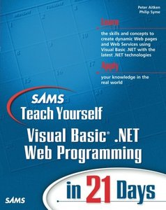 Sams Teach Yourself Visual Basic .NET Web Programming in 21 Days-cover