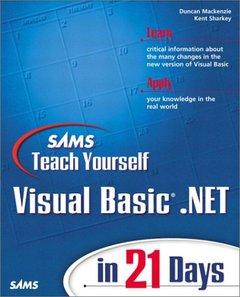 Sams Teach Yourself Visual Basic .NET in 21 Days-cover