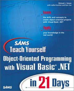 Sams Teach Yourself Object-Oriented Programming with VB.NET in 21 Days (Paperback)-cover