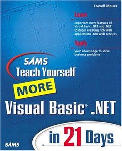 Sams Teach Yourself More Visual Basic .NET in 21 Days-cover