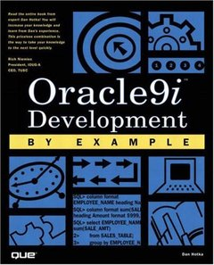 Oracle9i Development By Example-cover