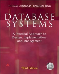 Database Systems: A Practical Approach to Design, Implementation, 3/e-cover