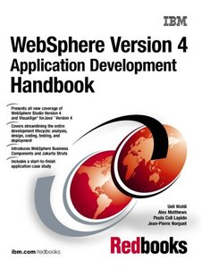 WebSphere Version 4 Application Development Handbook-cover
