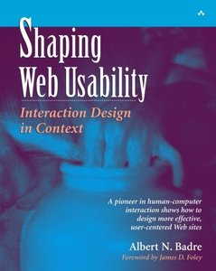 Shaping Web Usability: Interaction Design in Context-cover