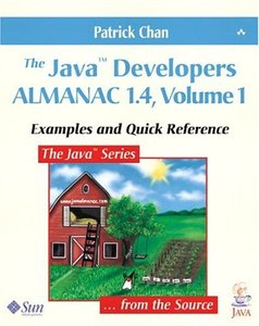 The Java Developers Almanac 1.4, Volume 1: Examples and Quick Reference, 4/e-cover
