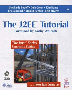 The J2EE Tutorial (Paperback)-cover