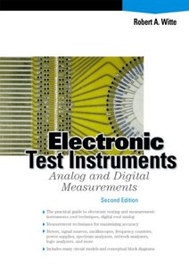 Electronic Test Instruments: Analog and Digital Measurements-cover