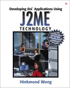 Developing Jini Applications Using J2ME Technology-cover