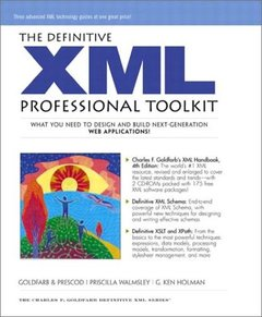 The Definitive XML Professional Toolkit-cover