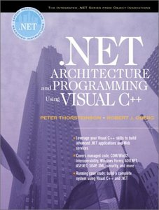 .NET Architecture and Programming Using Visual C++ (Paperback)-cover
