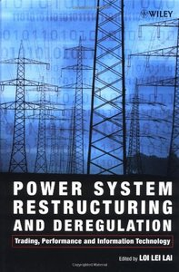 Power System Restructuring and Deregulation-cover