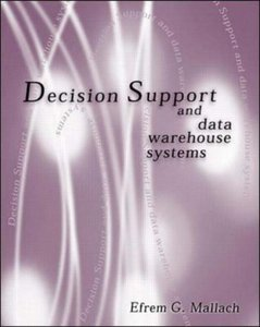 Decision Support and Data Warehouse Systems (Paperback)-cover