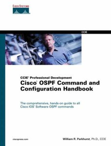 CCIE Professional Development Cisco OSPF Command and Configuration Handbook[Hardcover]-cover