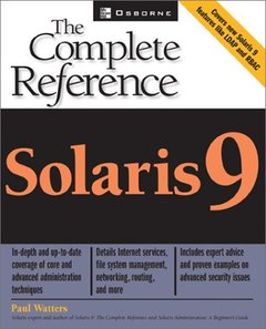 Solaris 9: The Complete Reference-cover