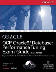OCP Oracle9i Database: Performance Tuning Exam Guide (Hardcover)-cover
