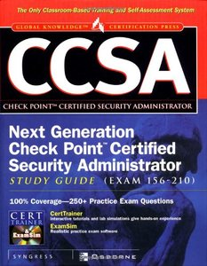 CCSA Next Generation Check Point Certified Security Administrator Study Guide-cover