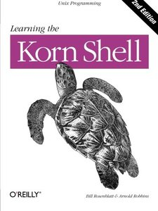 Learning the Korn Shell, 2/e (Paperback)-cover