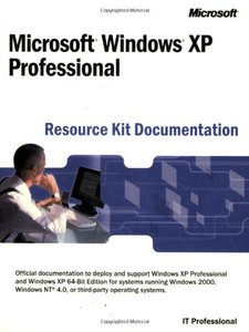 Microsoft Windows XP Professional Resource Kit Documentation-cover