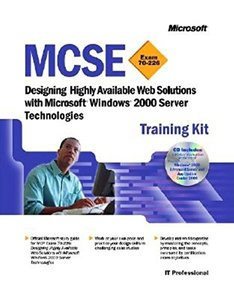 MCSE Training Kit:Designing Highly Available Web Solutions with Microsoft Window-cover