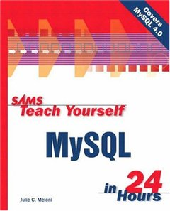 Sams Teach Yourself MySQL in 24 Hours-cover