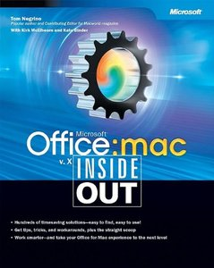 Microsoft Office v. X for Mac Inside Out (Paperback)-cover