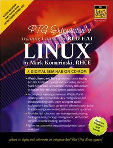 PTG Interactive's Training Course for Red Hat Linux: A Digital Seminar-cover