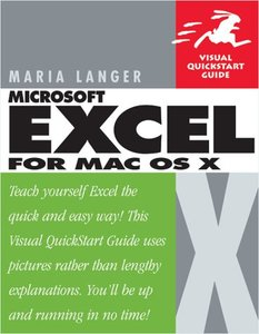 Excel X for Mac OS X-cover