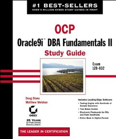 OCP: Oracle9i DBA Fundamentals II Study Guide-cover