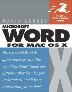 Microsoft Word for Mac OS X-cover