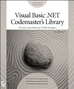 Visual Basic .NET Codemaster's Library (Paperback)-cover