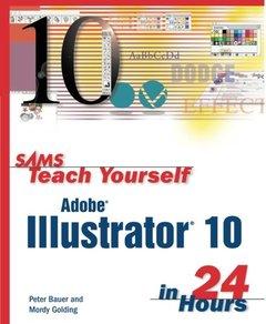 Sams Teach Yourself Adobe Illustrator 10 in 24 Hours-cover