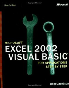 Microsoft Excel 2002 Visual Basic for Applications Step by Step-cover