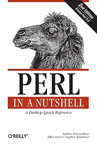 Perl in a Nutshell: A Desktop Quick Reference, 2/e-cover