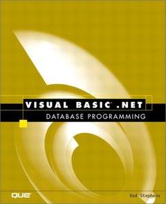 Visual Basic.NET Database Programming-cover