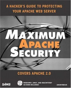 Maximum Apache Security-cover