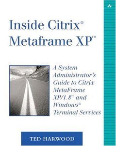 Inside Citrix MetaFrame XP, 2/e-cover